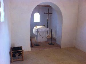 Altarnische in der Kapelle. Foto (c) HistoFakt/Jan H. Sachers M.A.