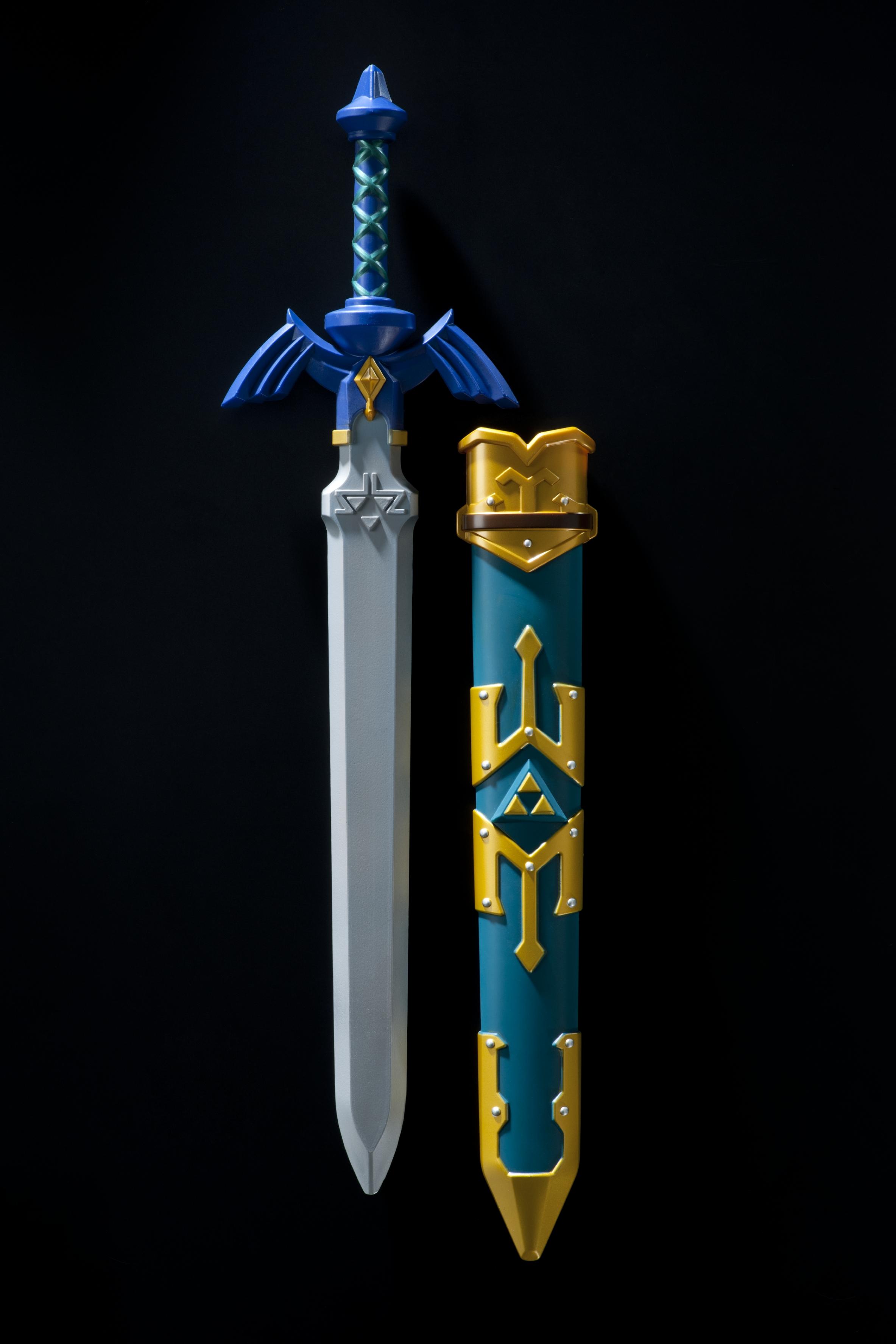 "Lizensierte Replik des Master-Schwerts aus ""The Legend of Zelda"". Nintendo, 2017. (c) Landesmuseum Württemberg, Stuttgart. Foto: Hendrik Zwietasch"
